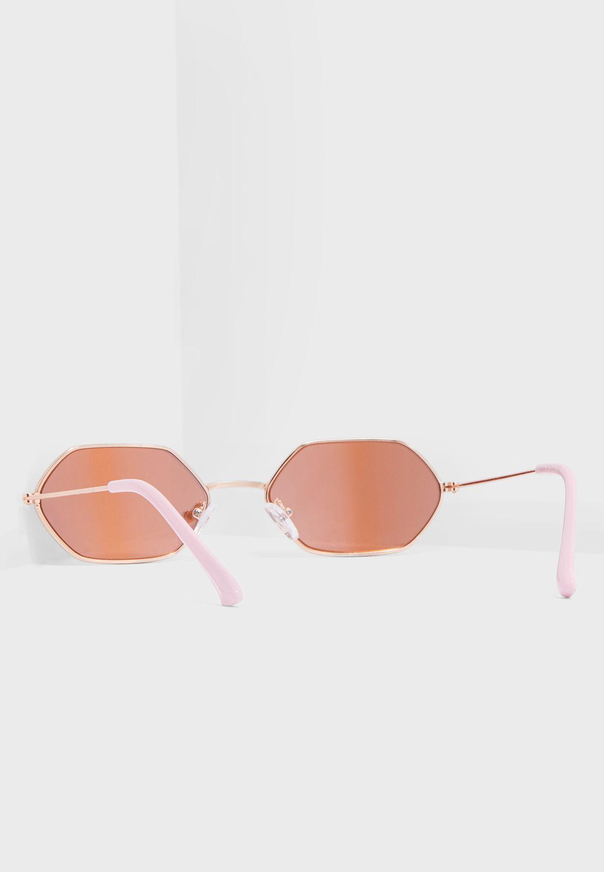 Mini Hex Sunglasses