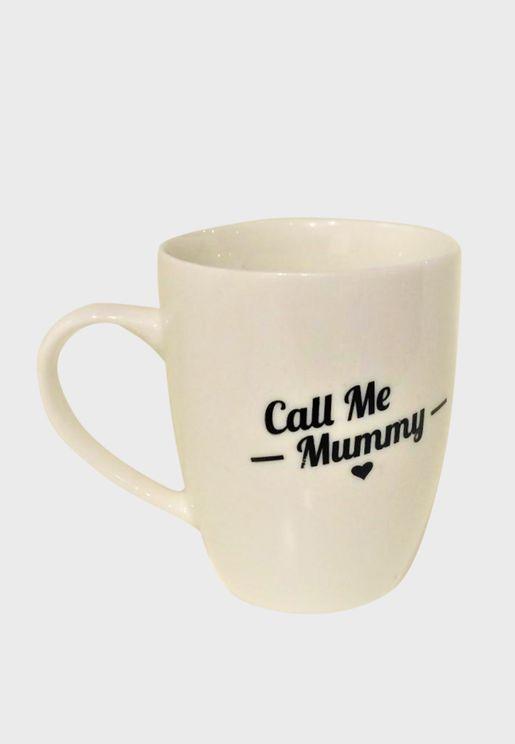 كوب بطباعة Call me Mummy
