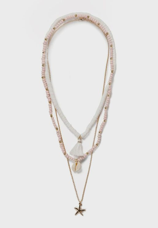 Kids 3 Pack Sea Elements Necklace