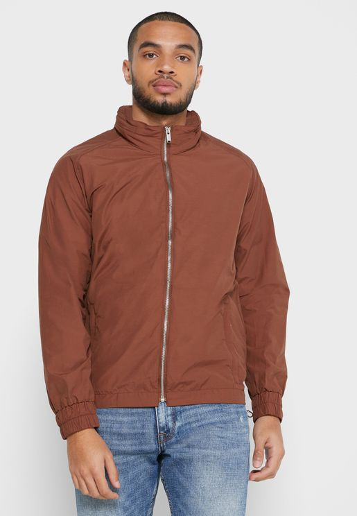 Zip Pocket Hooded Jacket