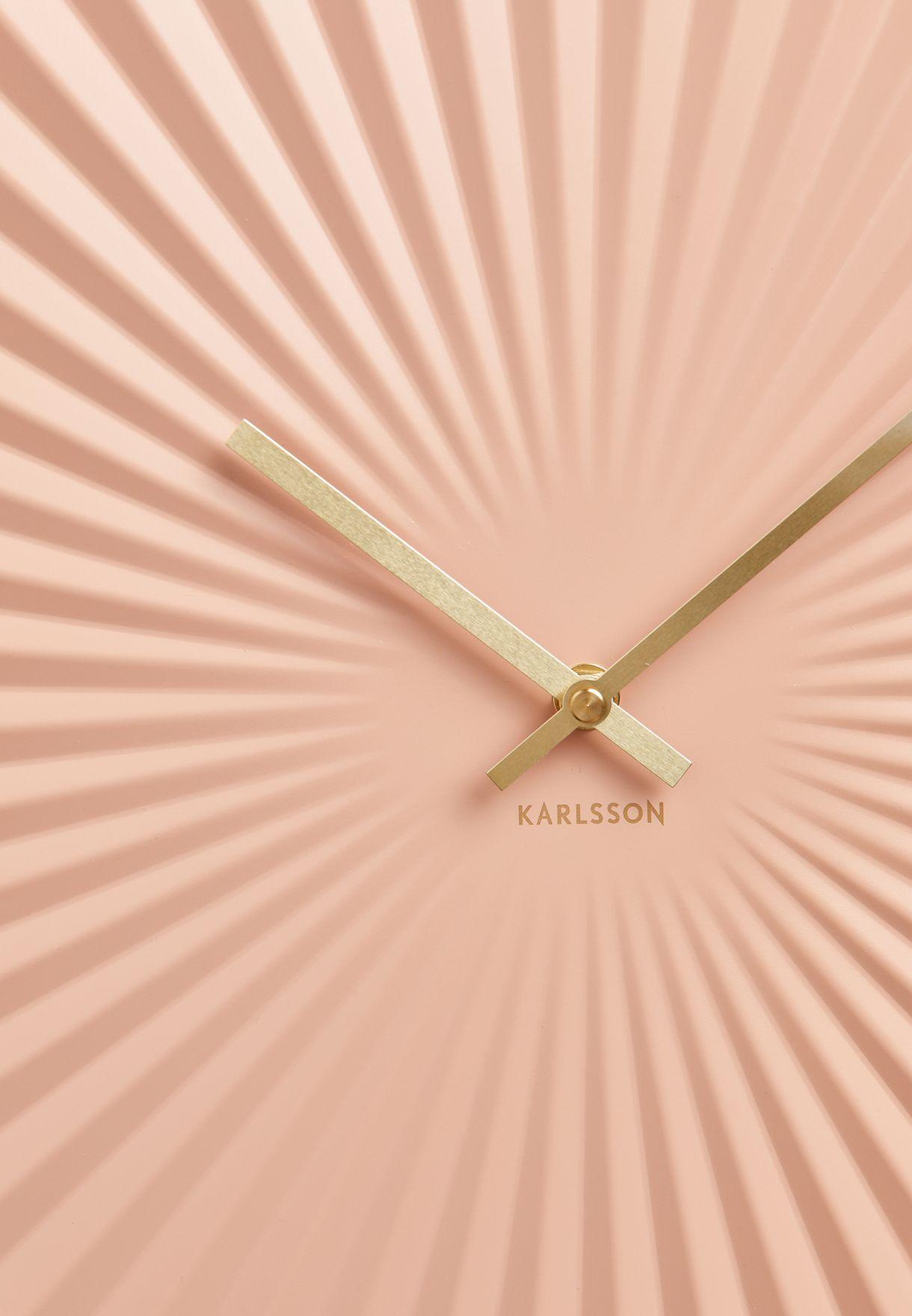 Sensu Pink Wall Clock
