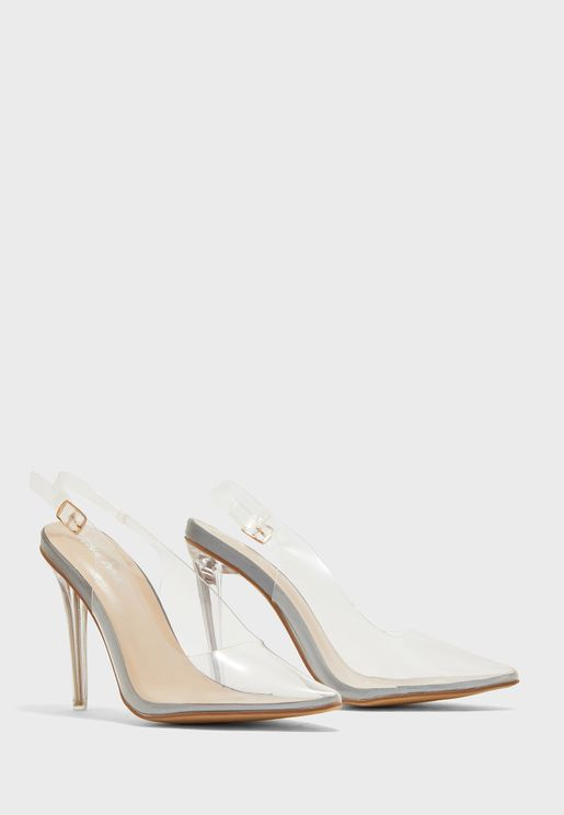 Ruby Buckle Strap Pump