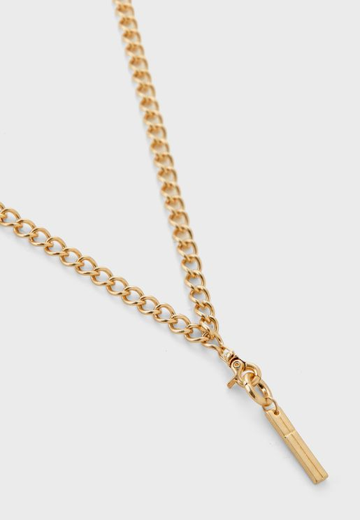 Link It Up Drop Tag Necklace