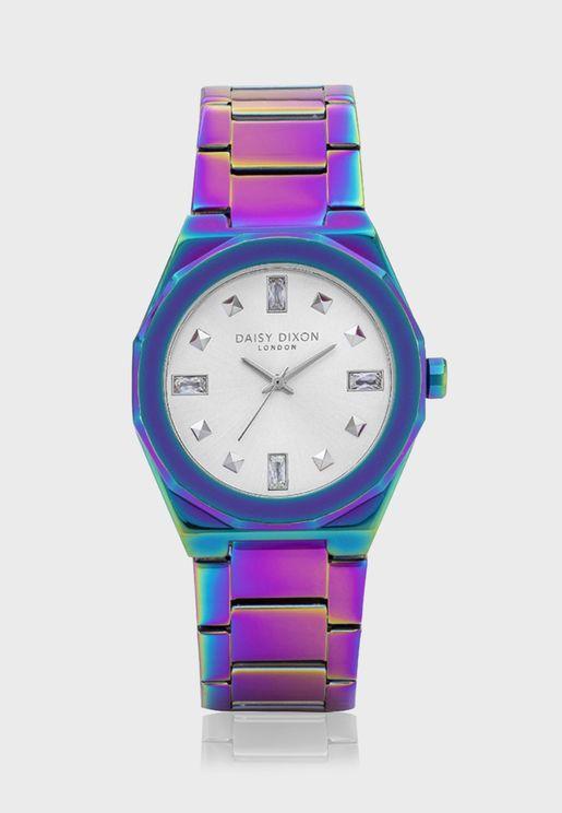 ساعة أليساندرا + شنطة صغيرة