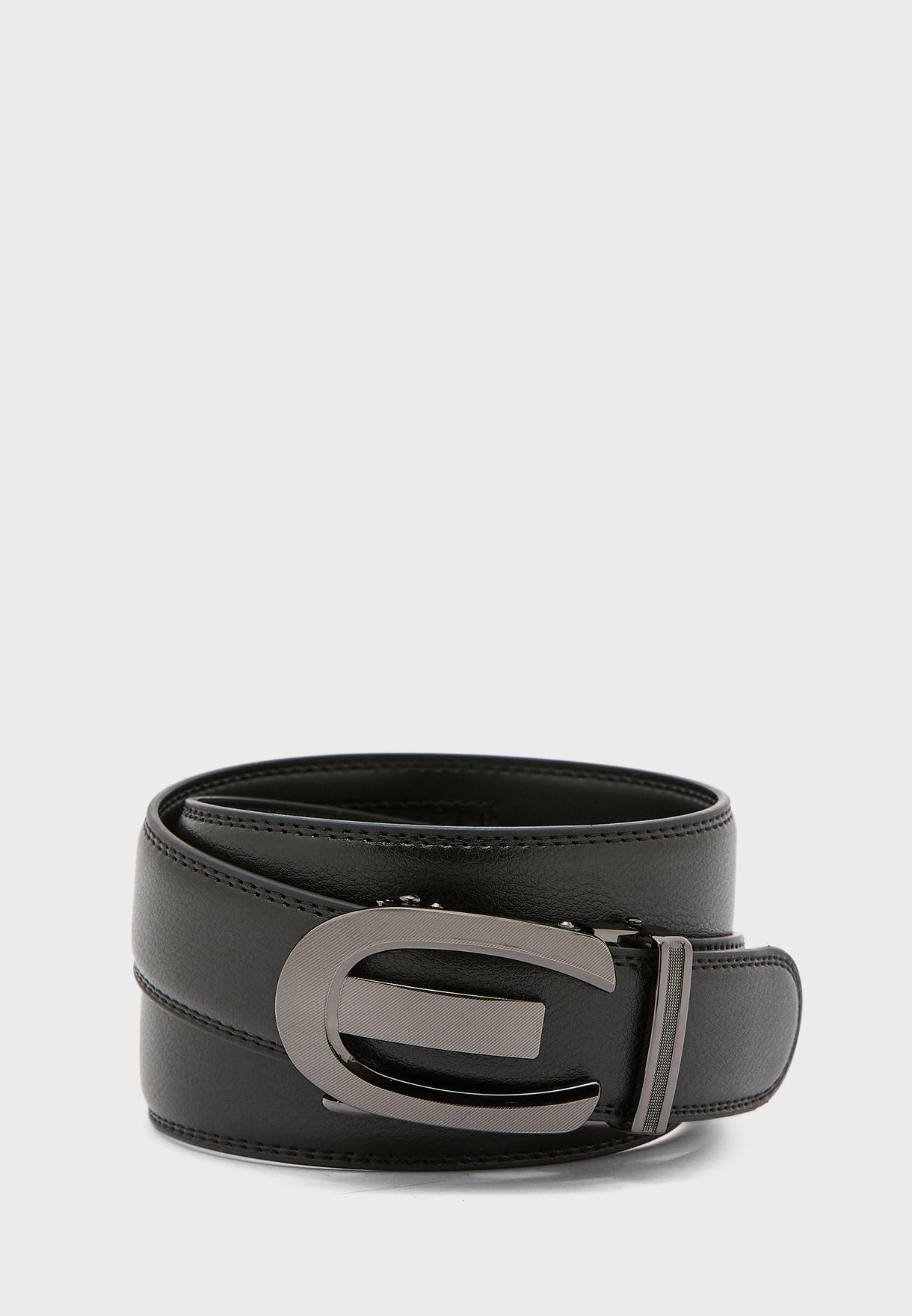 Formal Genuine Leather Belt