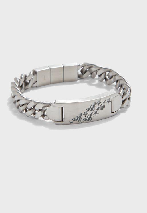 EGS2676040 Logo Bracelet