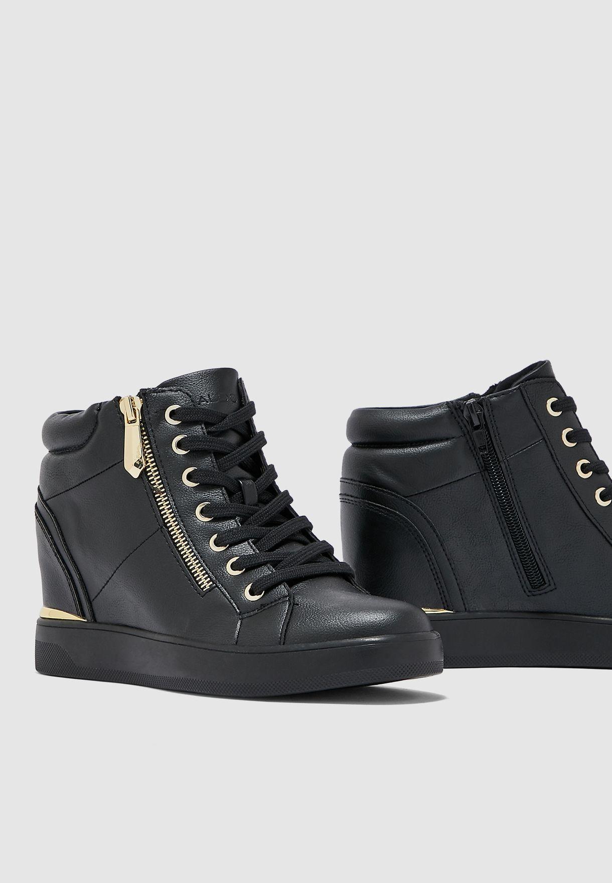 Aldo black Ailanna Sneaker for Women