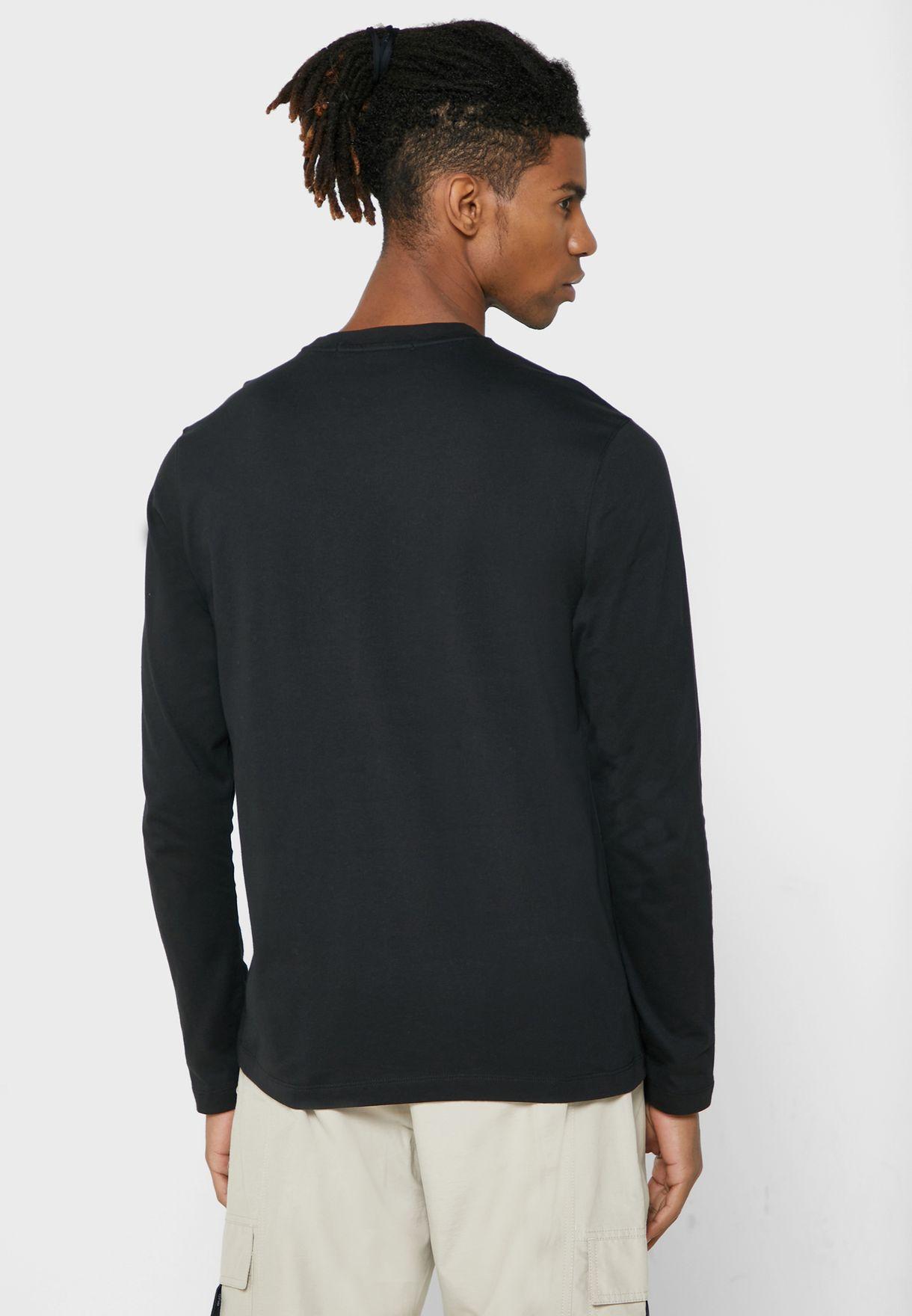 Pocket Detail Crew Neck T-Shirt