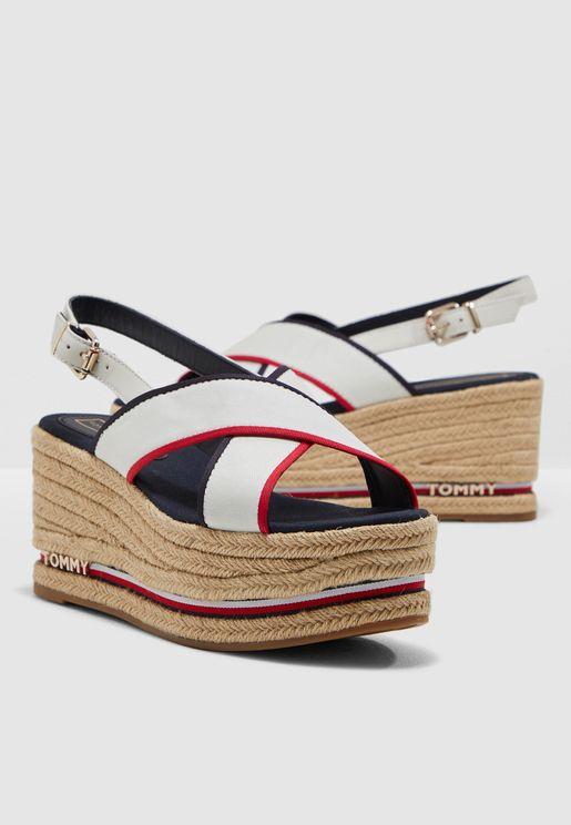 Flatform Sandal Ribbon