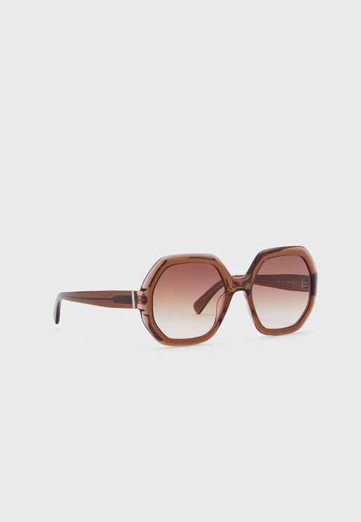 Lo623S Hexagon Sunglasses