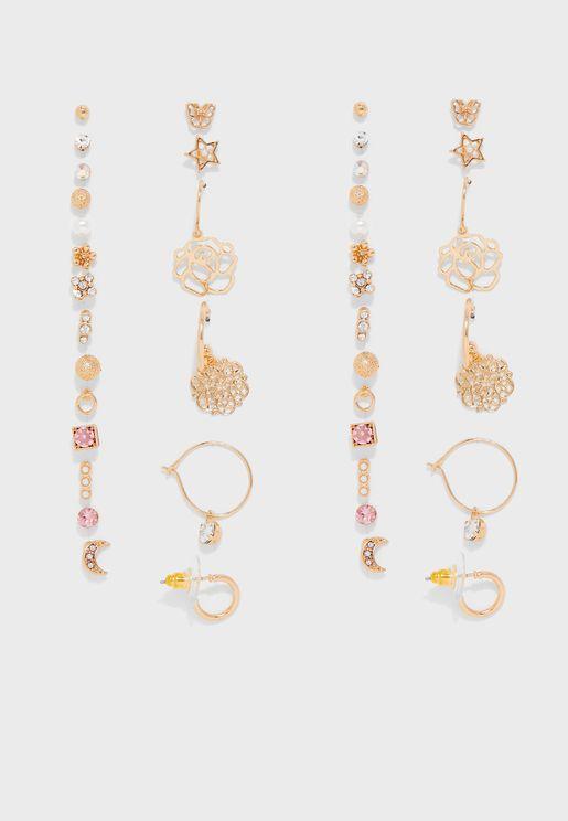Multipack Whealgerry Earrings