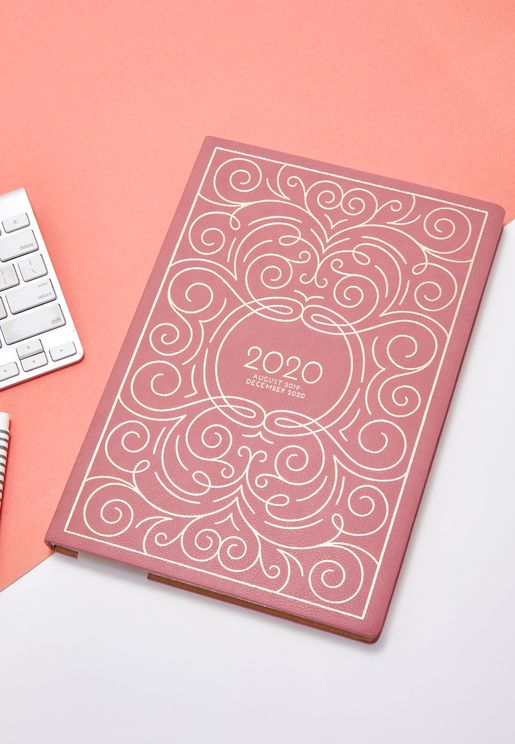 Swirl 17 Month Small Planner