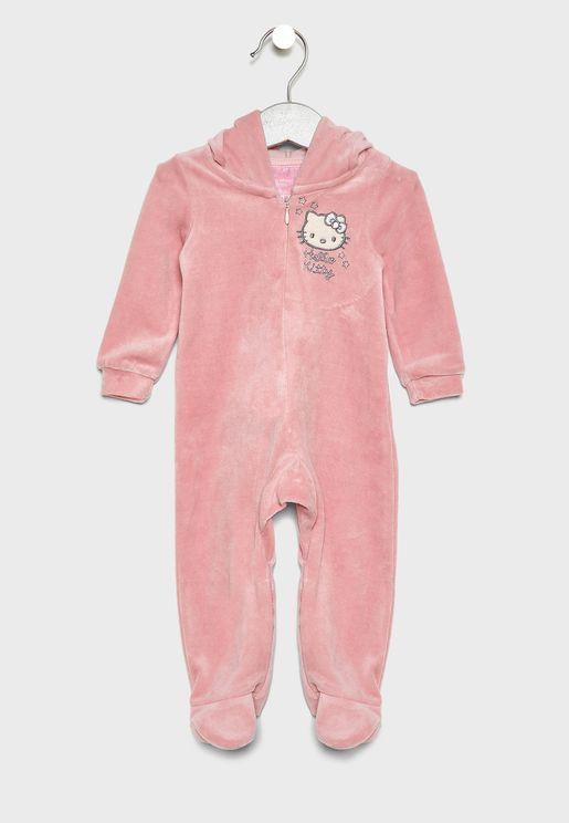 Infant Plush Romper