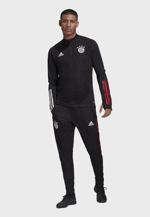 FC Bayern 3 Stripe Track Jacket