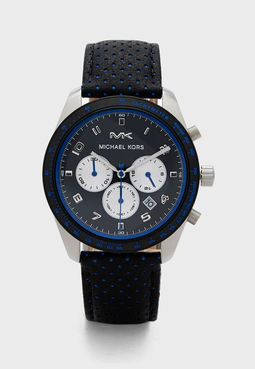 MK8706 Three Circle Dated Watch