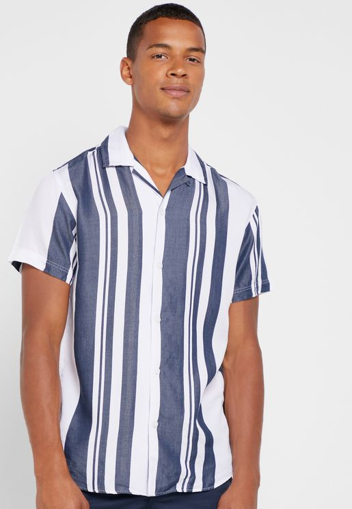 Regkevin Striped Slim Fit Shirt