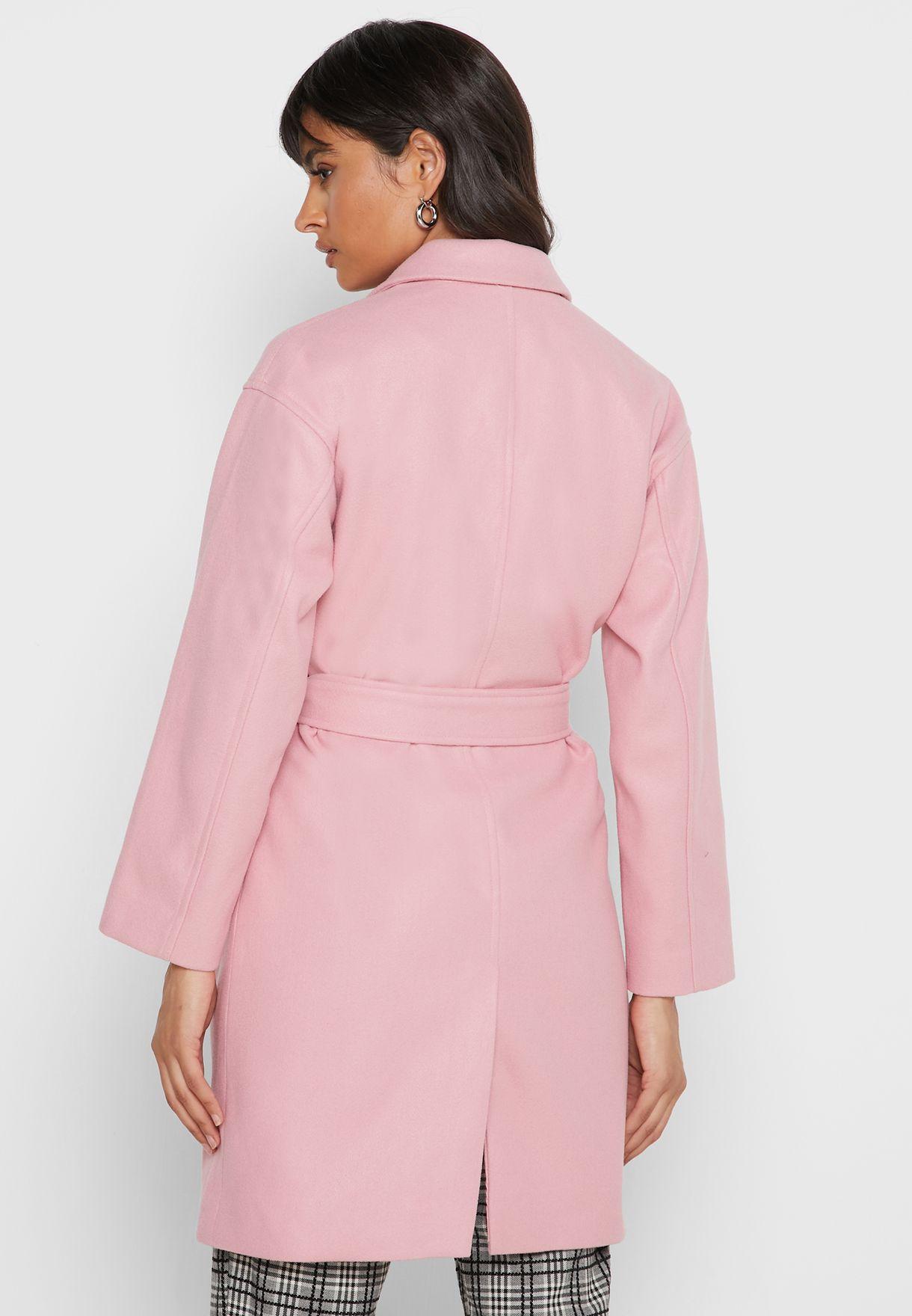 Self Tie Coat
