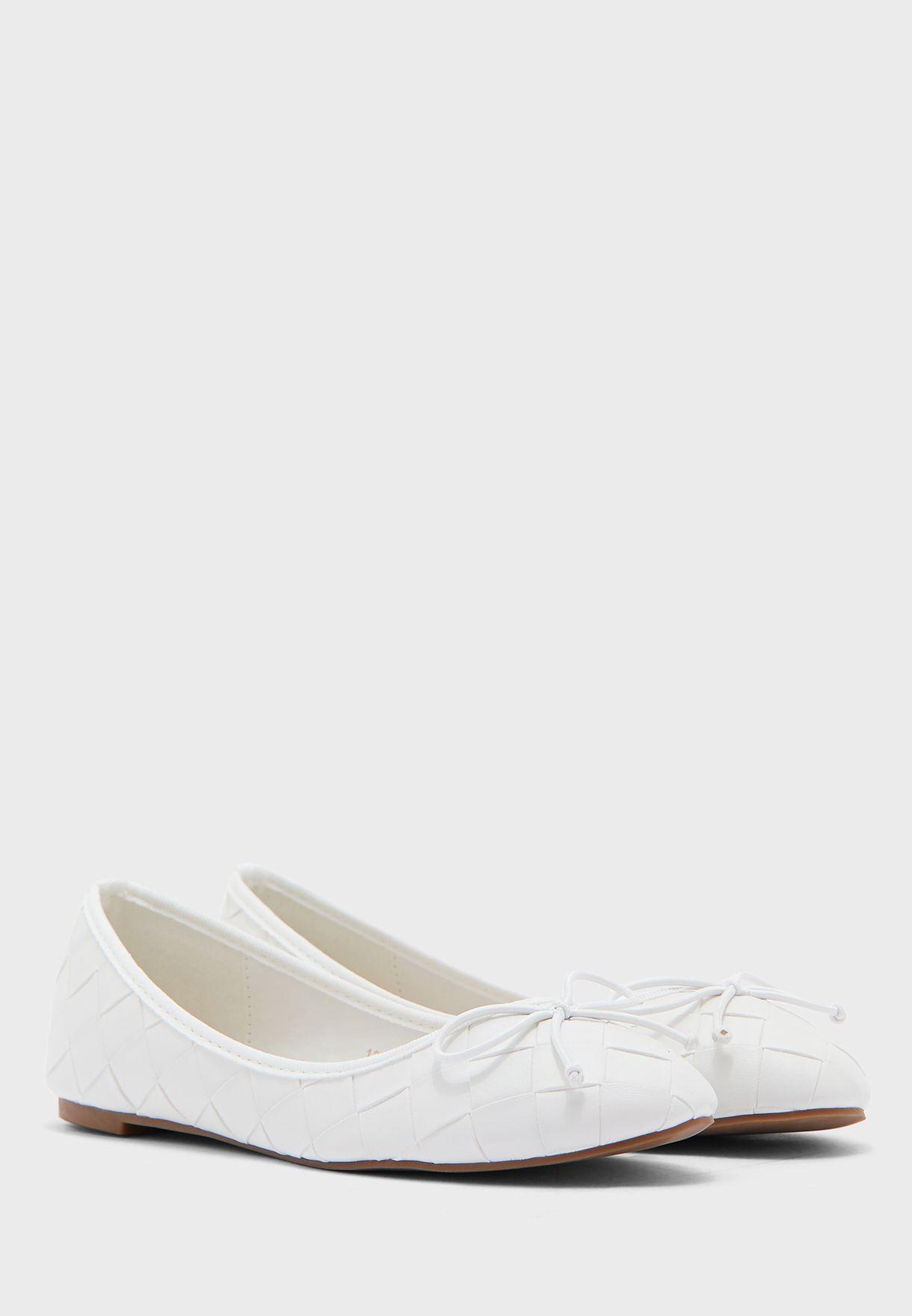 Weaved Ballerina Flat Shoe