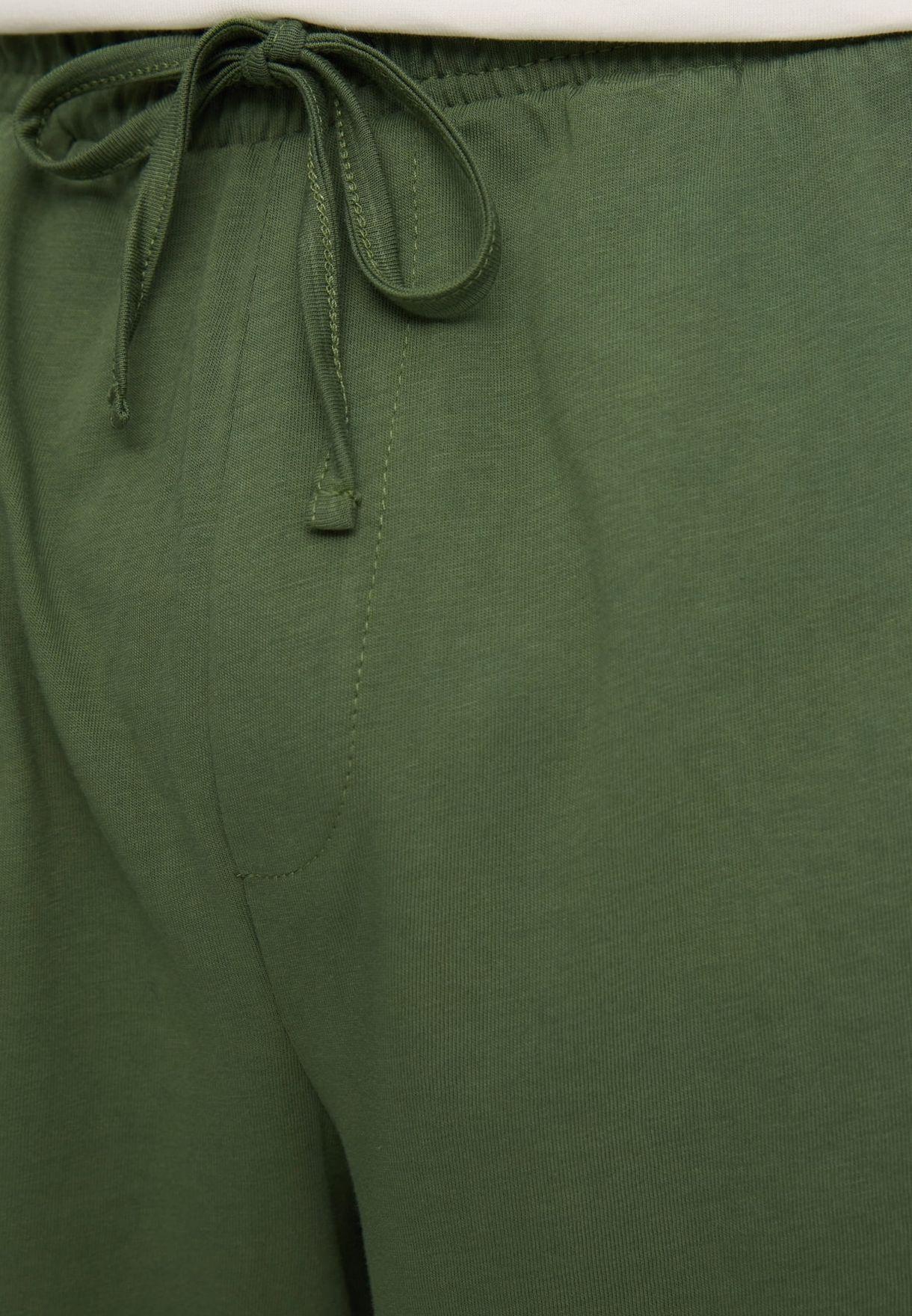 Slogan T-Shirt & Shorts Set