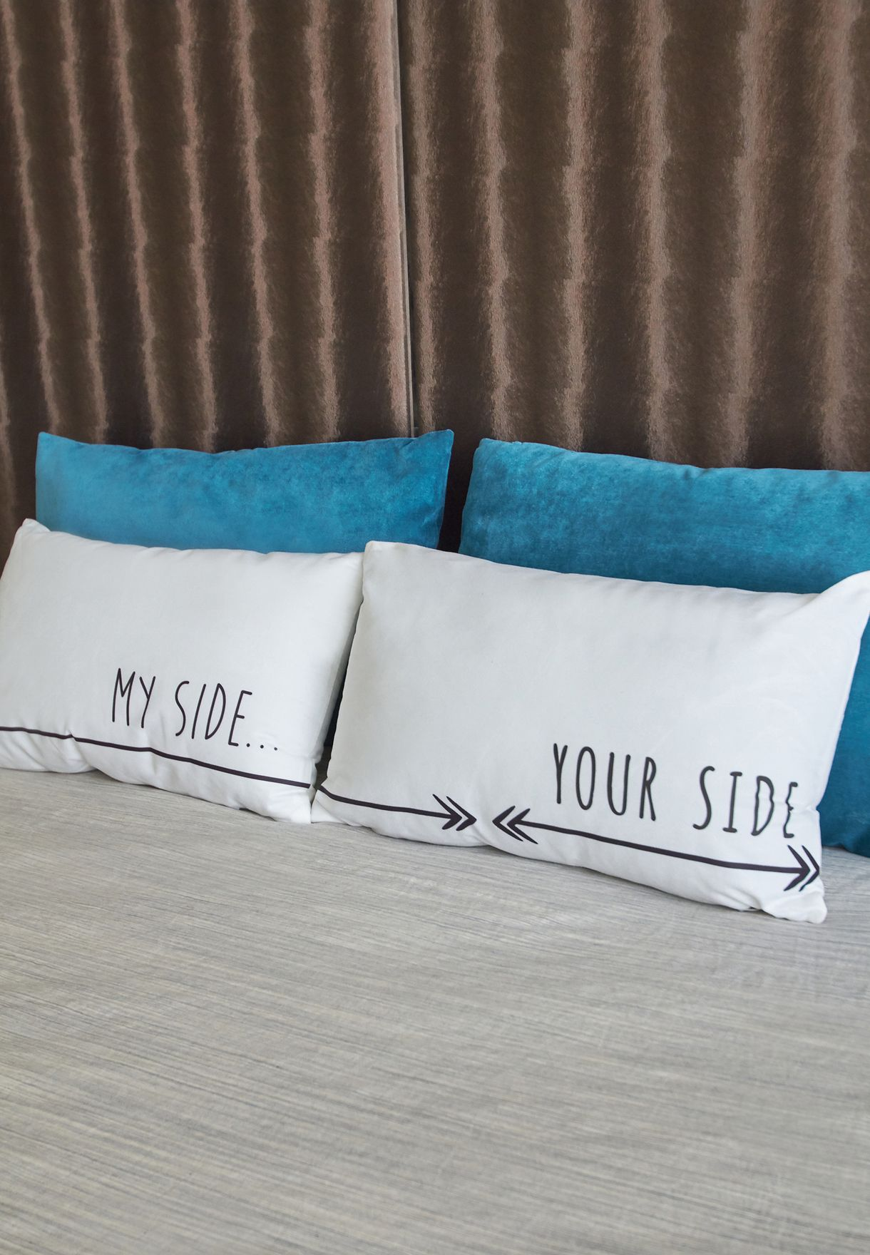 30x50 Your Side My Side Pillow Case Set
