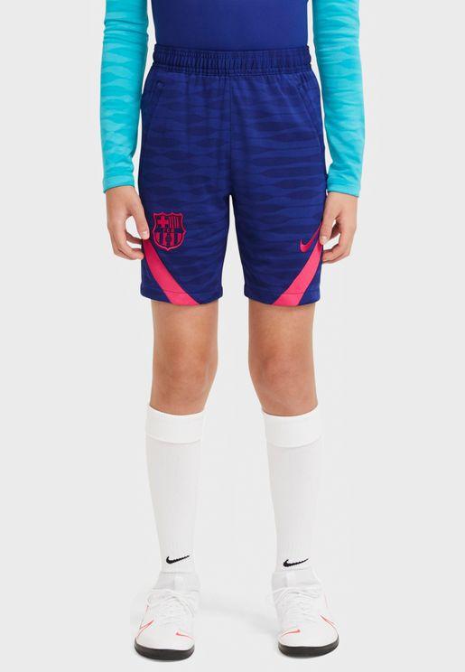 Youth FC Barcelona Strike Shorts