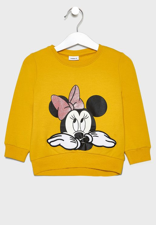 Kids Minnie Sweatshirt