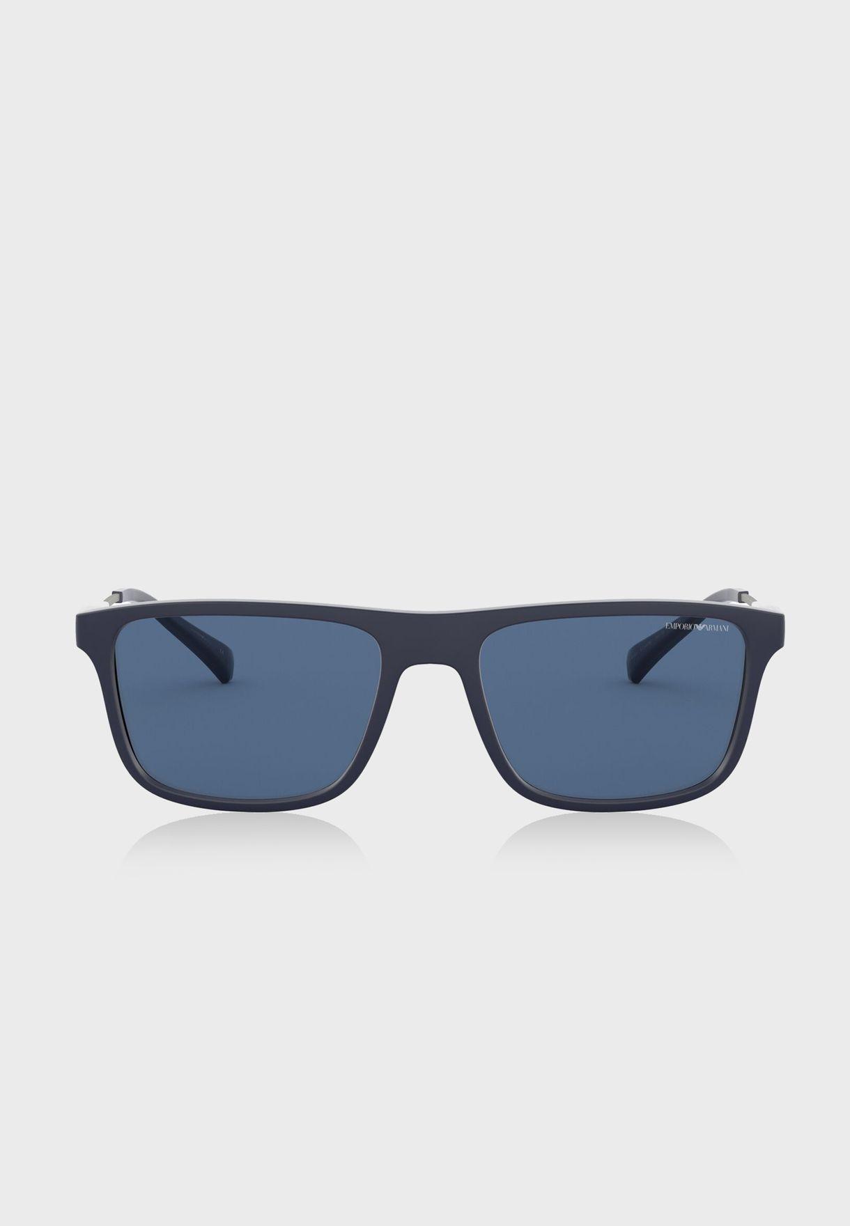 0EA4151 Rectangle Sunglasses