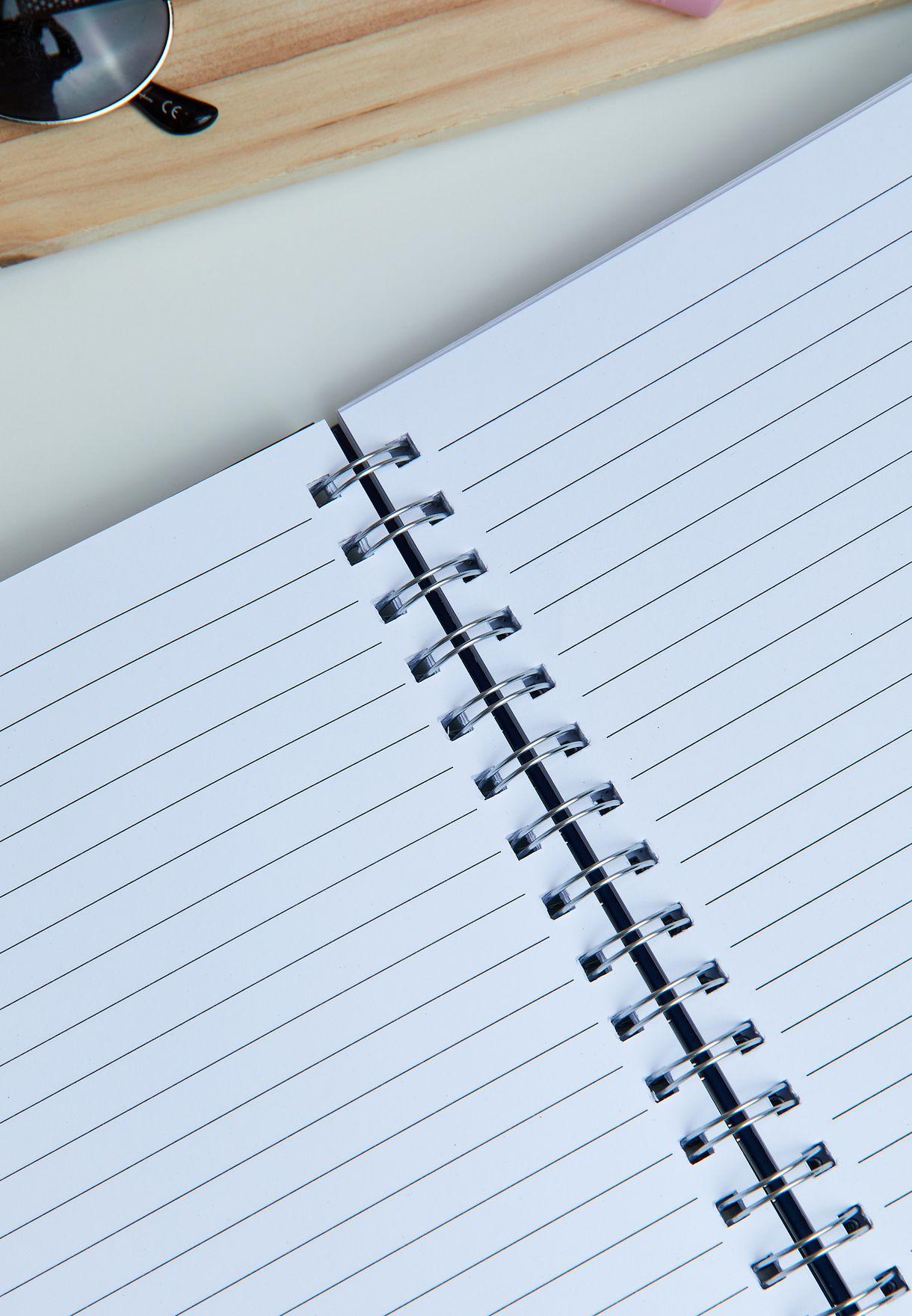 A4 Still Working Notebook