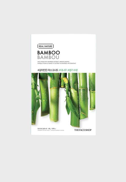 Real Nature Mask Sheet - Bamboo