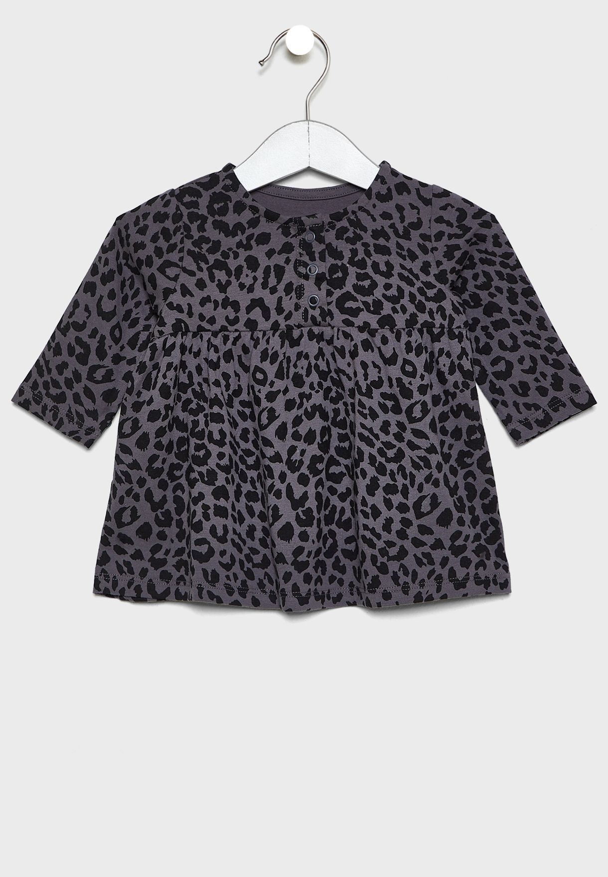 Infant Leopard Print Dress