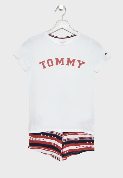 Teen Logo Short Pyjama Set