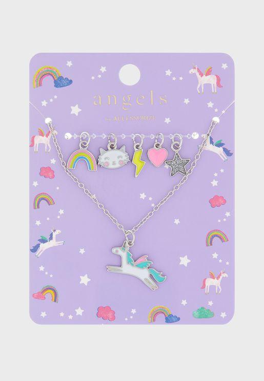 Kids Unicorn Necklace