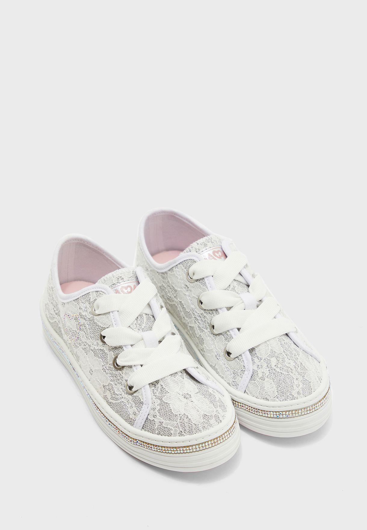 Youth Glitter Sneaker