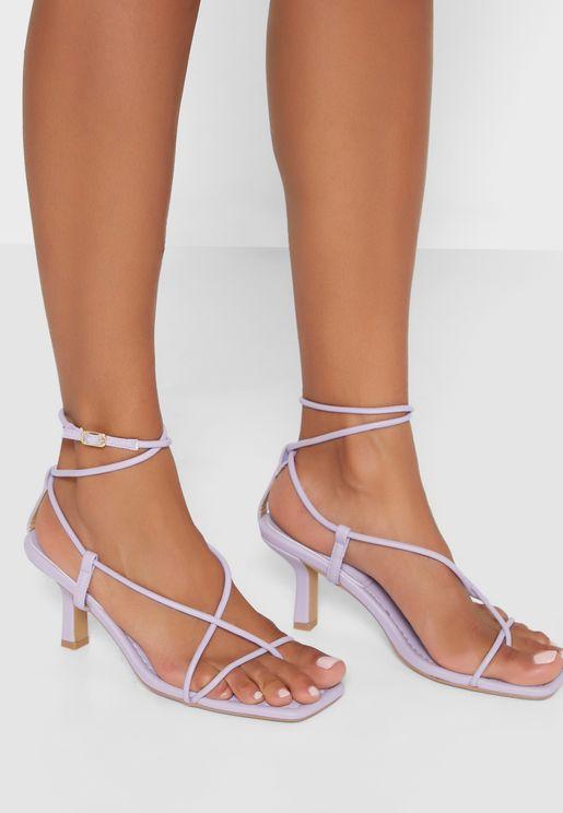 Aysm Strappy Toe Sandals