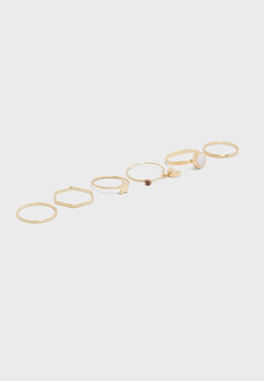 Multipack Stacking Ring Set