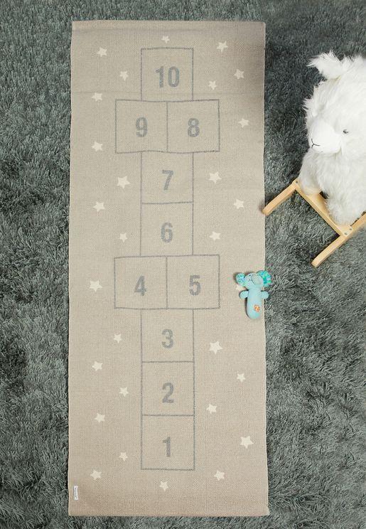Floor Hopscotch Game Rug