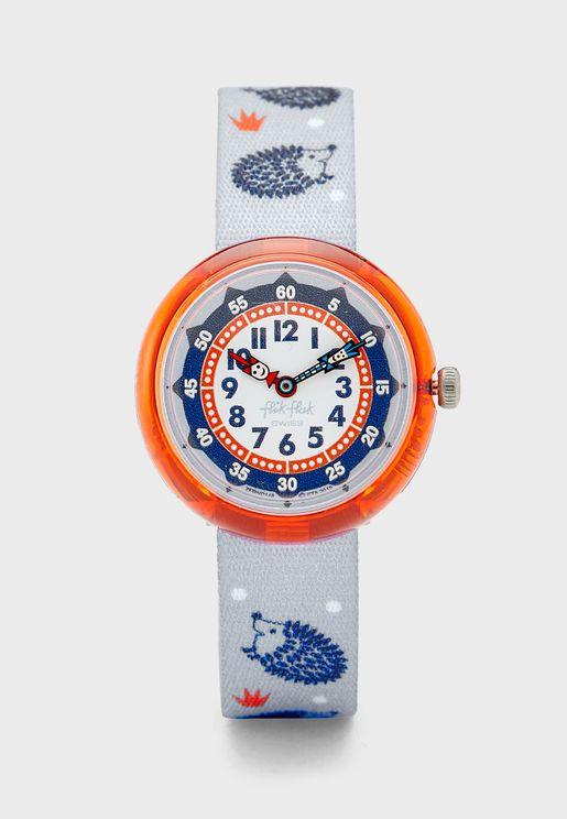 ساعة بطبعات للاطفال