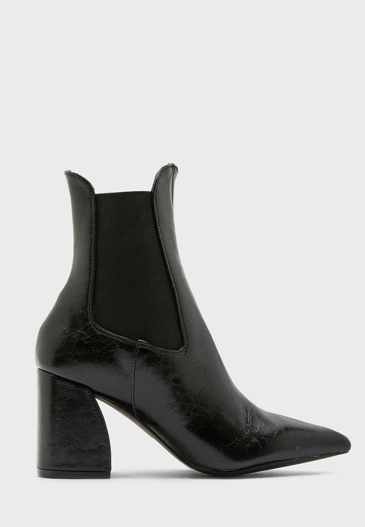 Boom High Heel Ankle Boot