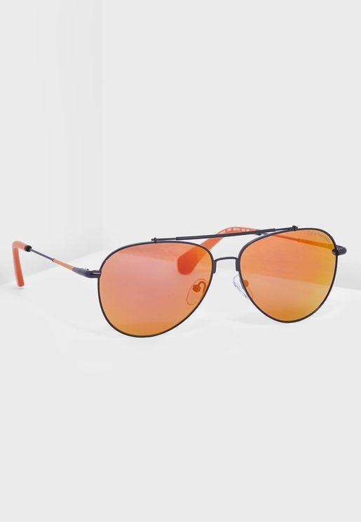 CKJ164S Aviator Sunglasses