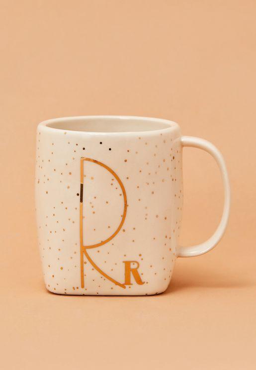 Initial R Mug
