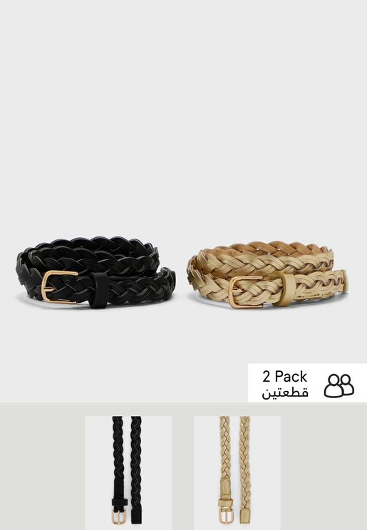 Multipack Allocated Hole Weave Belt