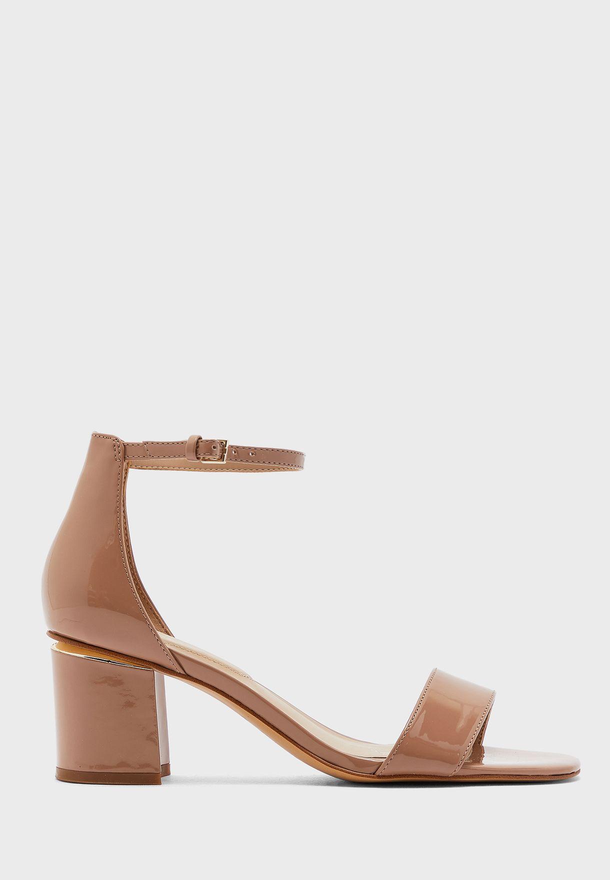 Valentina Ankle Strap High Heel Sandal