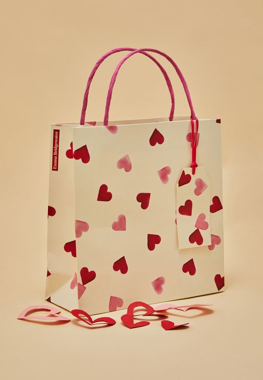 Hearts Medium Gift Bag