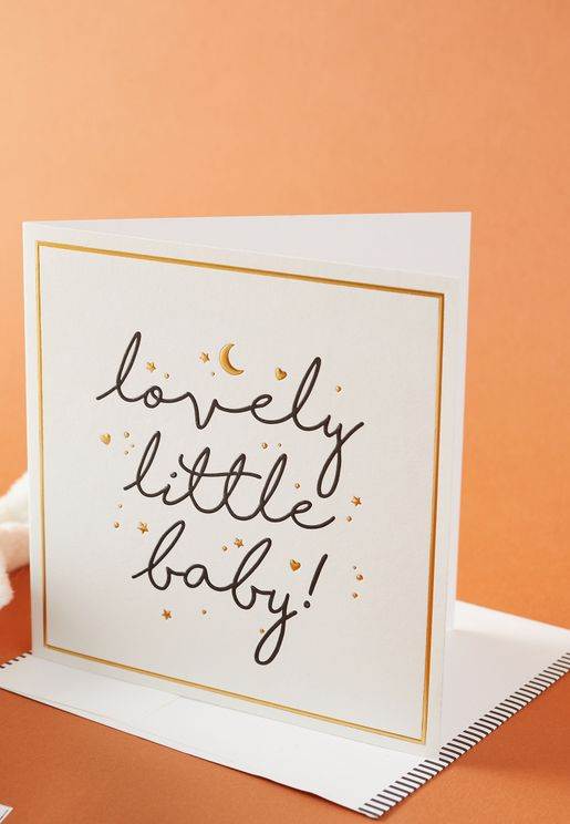 Lovely Little Baby Card