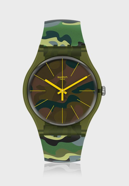 Camouforest Analog Watch