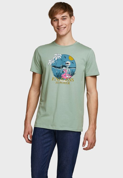 Endless Summer Crew Neck T-Shirt
