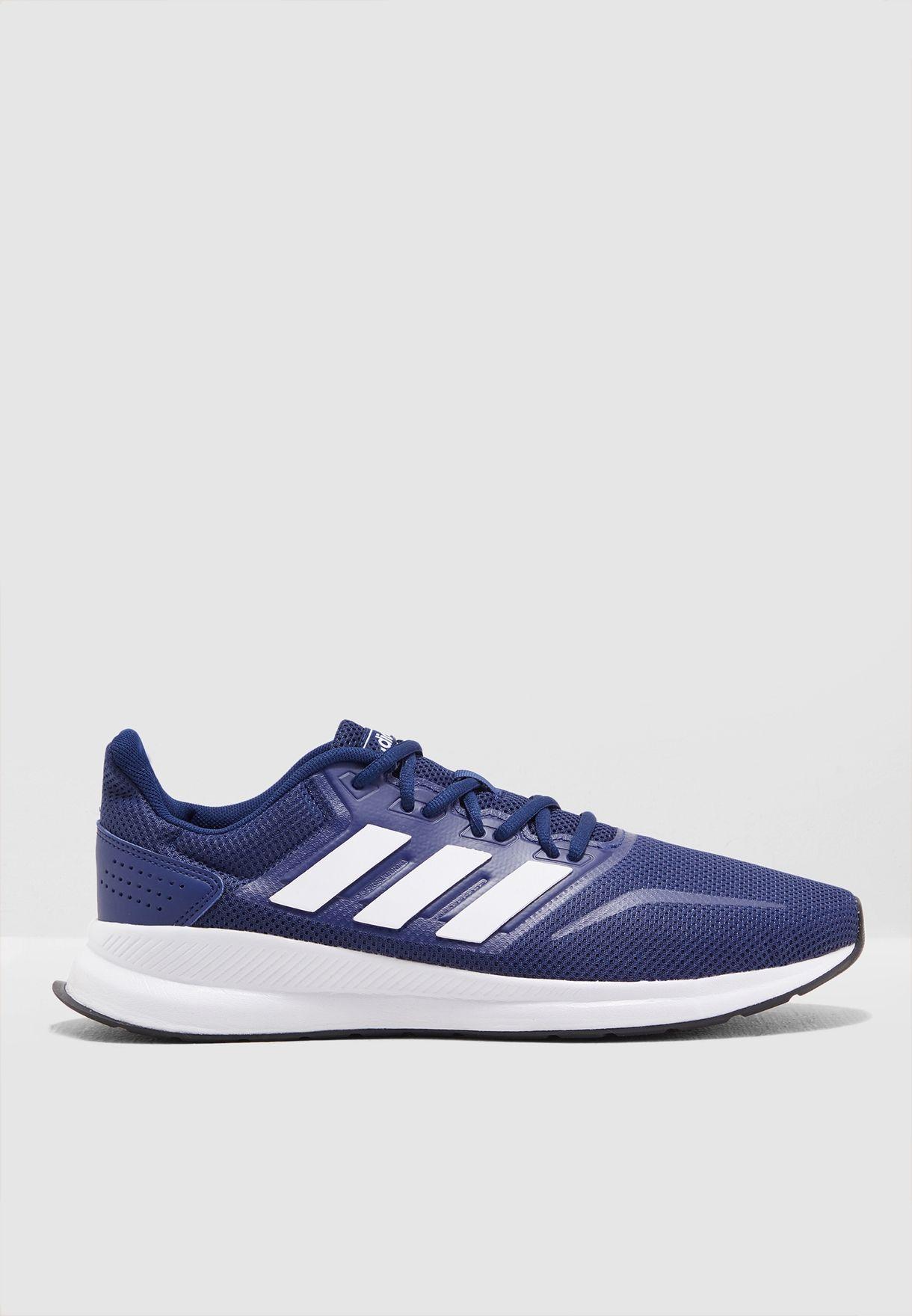 buy online 3051b 0fffe Shop adidas blue Runfalcon F36201 for Men in UAE - 14448SH94CUP