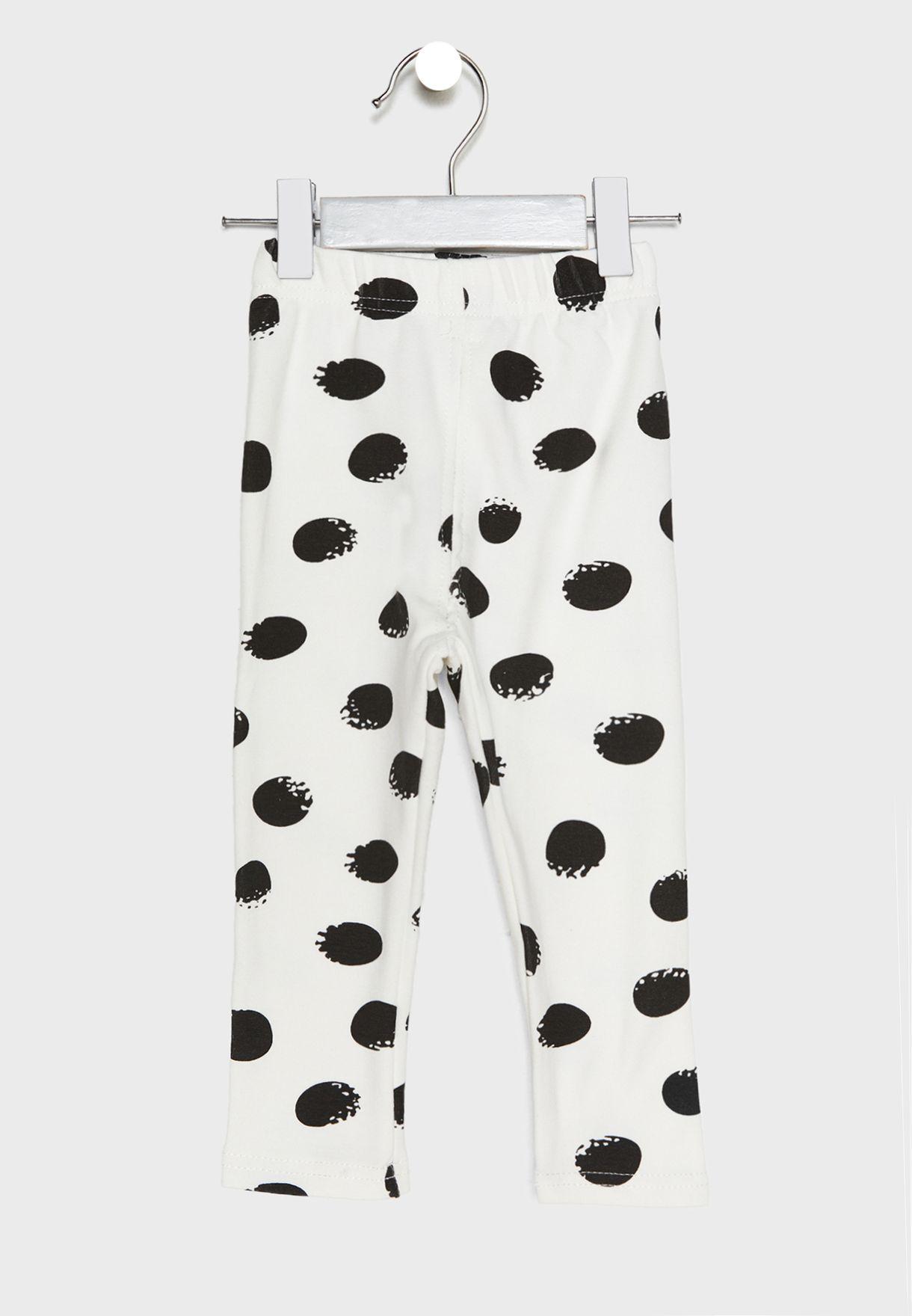 Polka Dot Pyjama Set