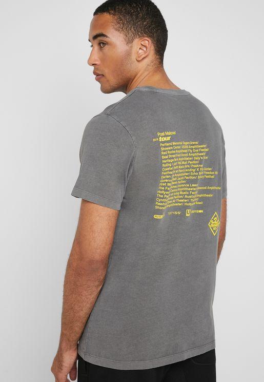 Post Malone Crew Neck T-Shirt