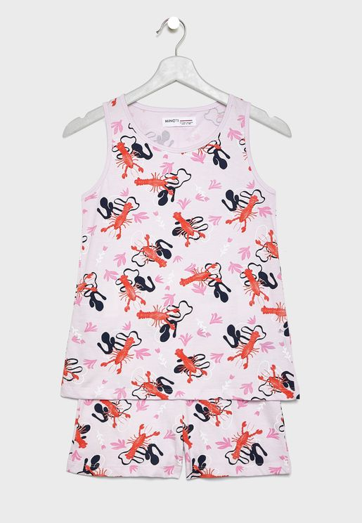 Kids Lobster Pyjama Set